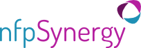 Logo: nfpSynergy - helping non-profits thrive