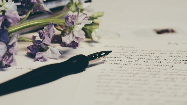 diary with writing in it