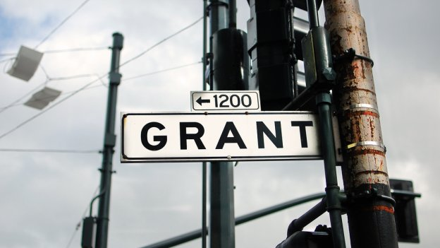 photo of Grant street sign in San Francisco