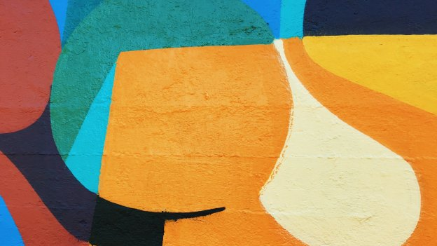 Image of colourful abstract shapes