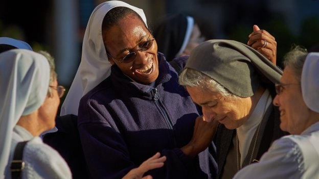 Laughing Nuns