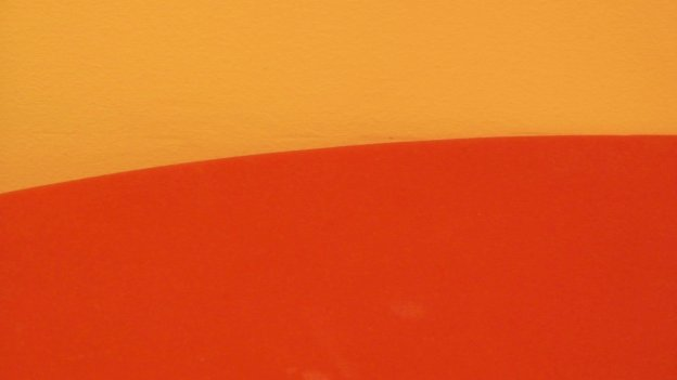 abstract red and orange image