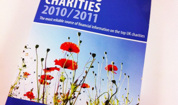 Image of Caritas Top 3000 charities book