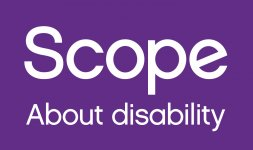 Logo: Scope. About disability