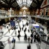 people in liverpool st station