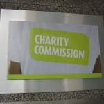 Charity Commission headquarters sign